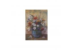 Aranjament floral - tablou pe sevalet