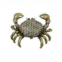 Casetuta in forma de crab cu pietre semipretioase