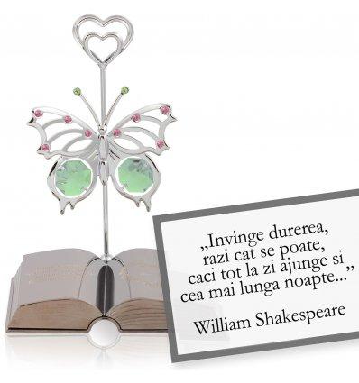 Proverb chinezesc despre copii - Colectia citate motivationale cu cristale Swarovski