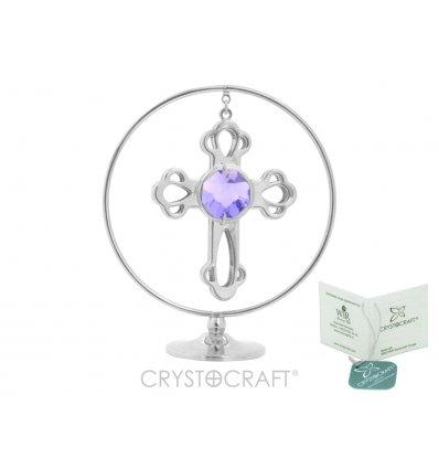 Cruciulita cu cristale Swarovski