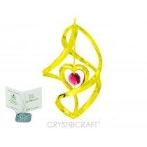 Decoratiune Spirala cu inimioara
