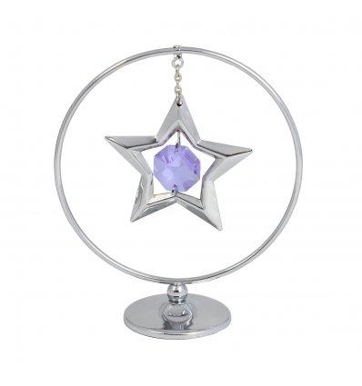 Steluta in cerc cu cristal Swarovski - oferta de 5 marturii
