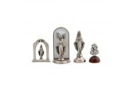 Set 4 statuete argintate