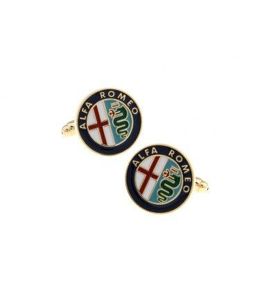 Butoni pentru camasa cu sigla Alfa Romeo