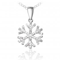 "Pandant ""Winter Magic Silver 925 Crystal Diamonds"""