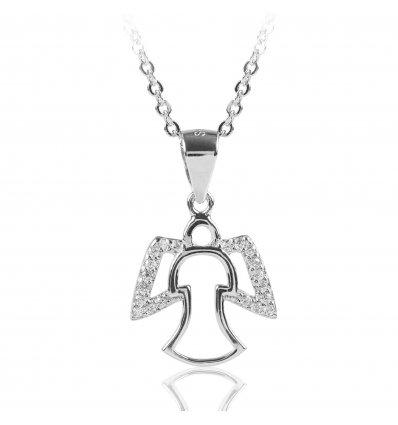 Pandantiv din argint 925 cu cristale