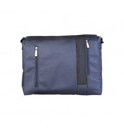 Geanta Laptop Trussardi Jeans (Bleumarine)