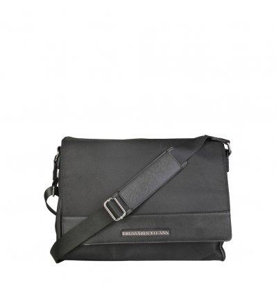 Geanta de umar pentru Laptop Trussardi Jeans (Black)
