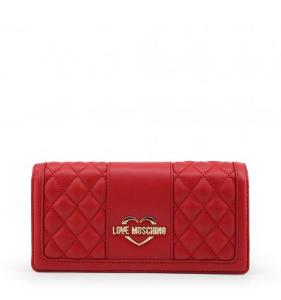 Clutch Love Moschino (Rosu)