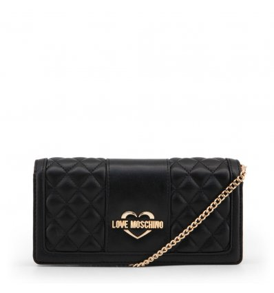 Clutch Love Moschino (Black)