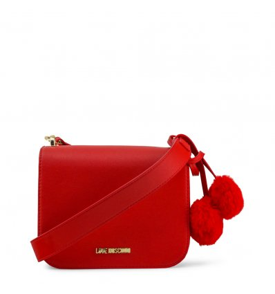 Clutch Love Moschino (Red Fur)