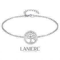 Bratara din argint 925 cu cristale Tree Of Life - LANIERE