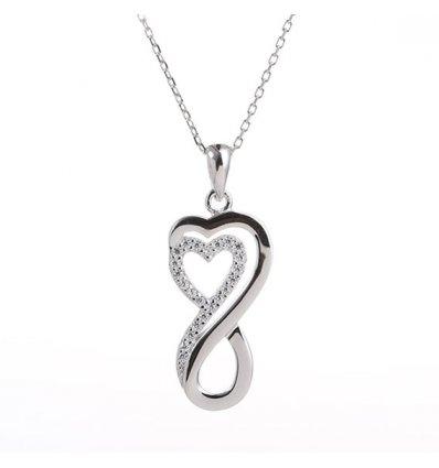 """Colier din Argint 925% """"Unlimited Love"""""""