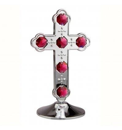 Crucifix cu cristale Swarovski