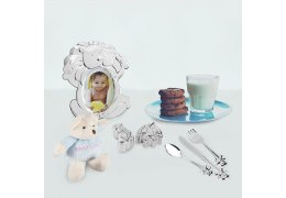 "Set cadouri de Botez ""Happy Baby Boy"""