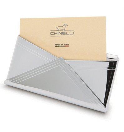 Port card argint Chinelli Italy