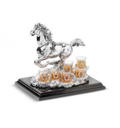 Statueta Suport pentru vodka Verticale Cavallo