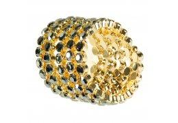 "Bratara aurita tip clasp - ""Infinite Diamonds"""