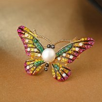 "Brosa ""Colorful Gracious Butterfly"""