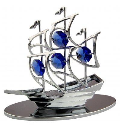 Corabie cu cristale Swarovski