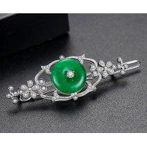 Agrafa de par cu cristale Swarovski Elements - Vintage