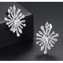 Cercei cu cristale Swarovski Elements The Queen
