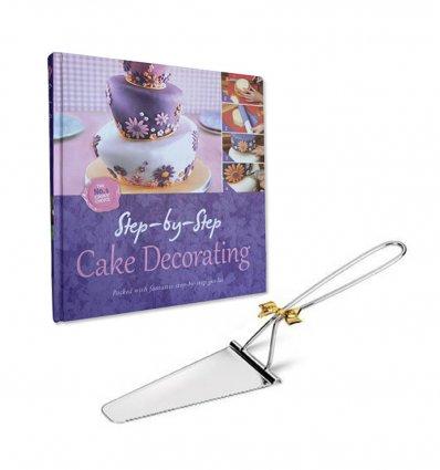 Paleta argintata pentru tort by Chinelli Italy