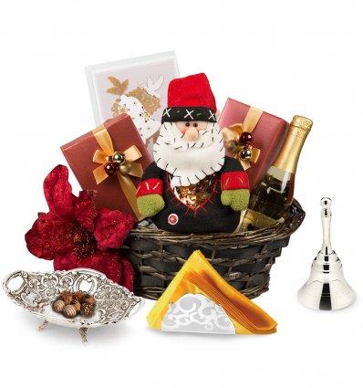"""Red Christmas"" - Cos de Craciun Chinelli Italy"
