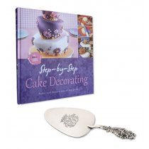 Paleta argintata pentru tort by Sheffield - Chinelli Italy