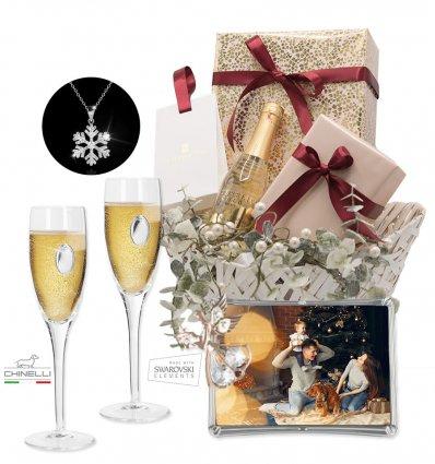 Cos cadou de Craciun pentru doamne - Celebrating Christmas