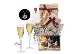 Cos cadou de Craciun - Celebrating Christmas - Swarovski Crystals