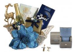 Christmas for Gentleman - Cos de craciun Leather & Crystals