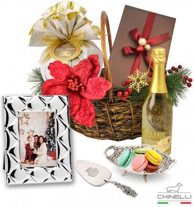 Exquisite Luxury Christmas Basket