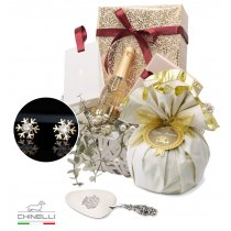 Mrs. Claus - Luxury Christmas Basket for HER Chinelli Italy