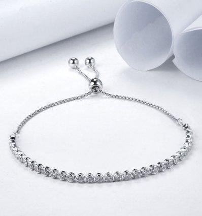 Bratara cu cristale Swarovski Elements Divina Diamonds