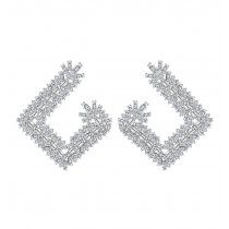 Cercei cu cristale Swarovski Elements Crystal Diamonds