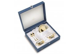 Gold Plated - Set de Espresso made by Chinelli Italy