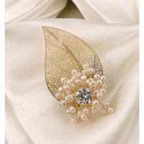 Brosa eleganta Golden Pearl