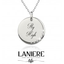 "Colier din argint 925% cu cristale cubic zirconia ""Fly High"" LANIERE Life"