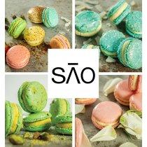 Set de 6 Macarons artizanal la calitate de 3 stele Michelin