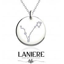 Zodiac Constellation - Pesti - Colier din argint 925% LANIERE Life