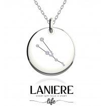 Zodiac Constellation - Taur - Colier din argint 925% LANIERE Life