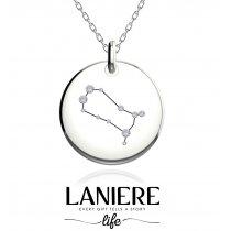 Zodiac Constellation - Gemeni - Colier din argint 925% LANIERE Life