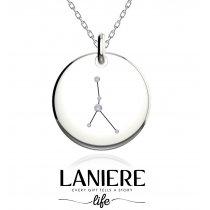 Zodiac Constellation - Rac - Colier din argint 925% LANIERE Life