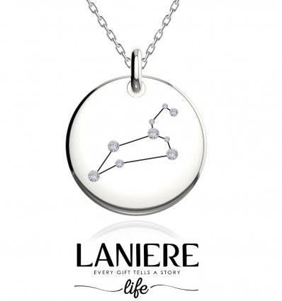 Zodiac Constellation - Leu - Colier din argint 925% LANIERE Life