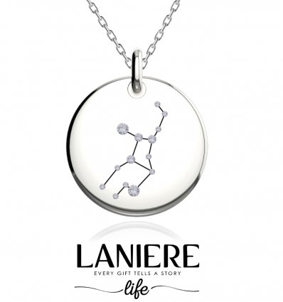Zodiac Constellation - Fecioara - Colier din argint 925% LANIERE Life