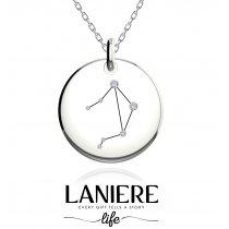 Zodiac Constellation - Balanta - Colier din argint 925% LANIERE Life