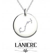 Zodiac Constellation - Scorpion - Colier din argint 925% LANIERE Life