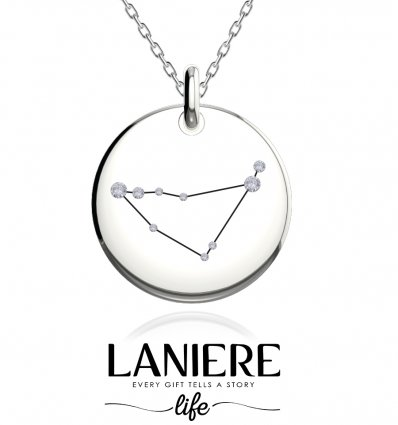 Zodiac Constellation - Capricorn - Colier din argint 925% LANIERE Life