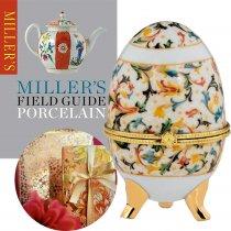 """Caseta Ou Faberge din Portelan """"Royal"""""""